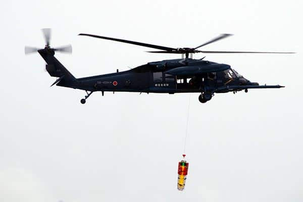 『UH-60J救難ヘリコプター』