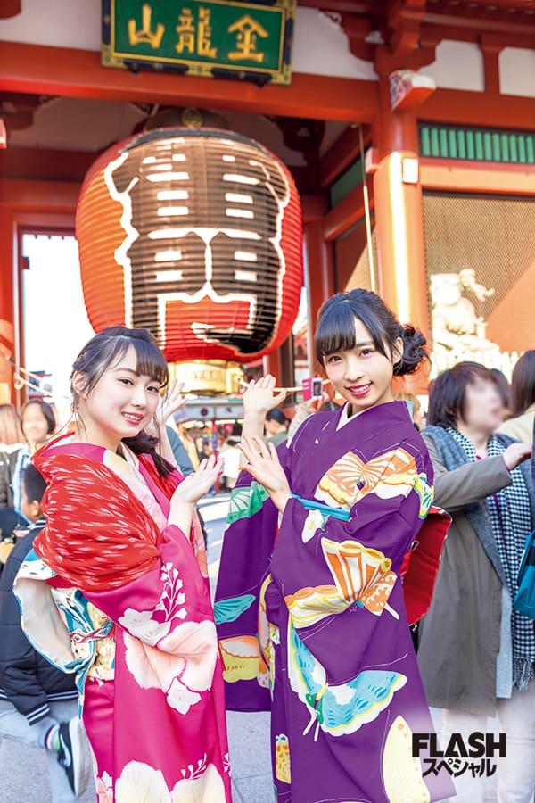 AKB48 チーム8 小栗有以×山田杏華「満喫東京デート」