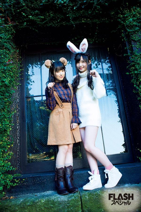 HKT48 矢吹奈子×荒巻美咲「不思議の森のなこみるん」