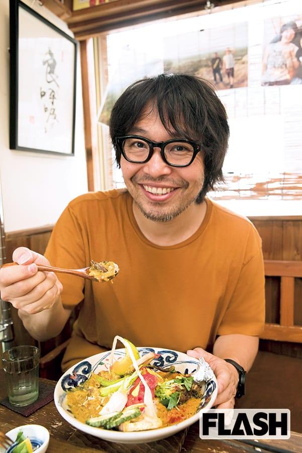 ミュージシャン曽我部恵一が選ぶ東京カレー「香りが衝撃的な…」