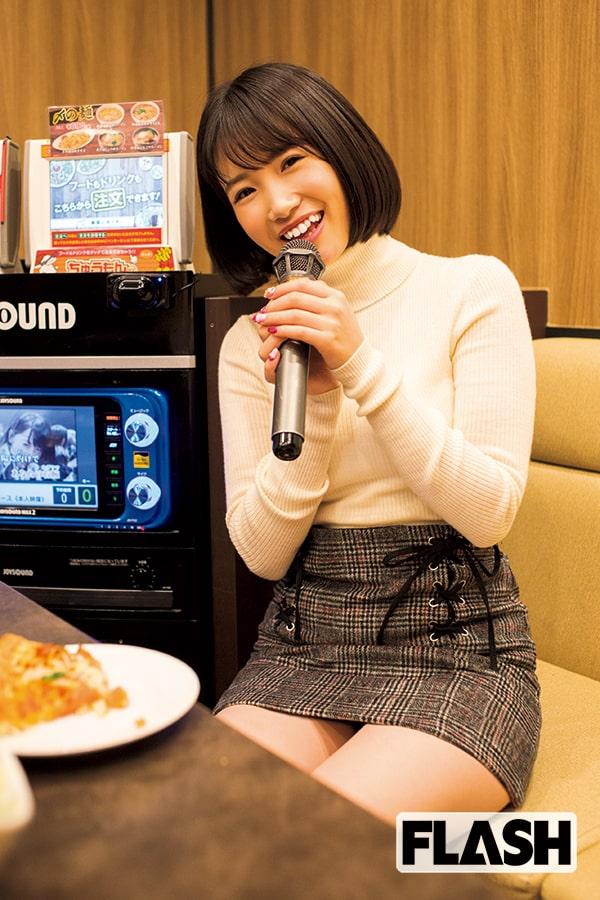HKT48朝長美桜「カラオケからの……大人デート」