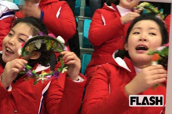 写写丸が見た「平昌五輪」北朝鮮美女応援団に求婚してみた