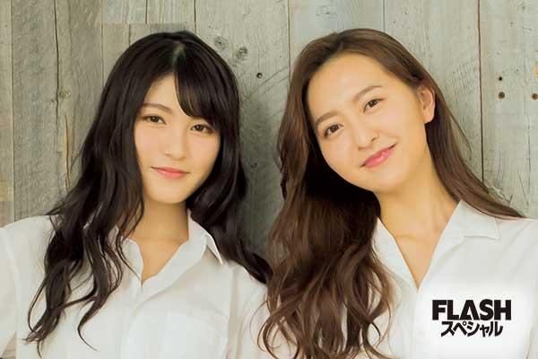 HKT48 森保まどか×神志那結衣 美しさ、最上級!