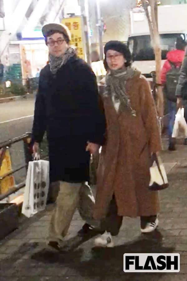 個性派俳優「鈴木浩介」妻とアツアツ西武百貨店で買い物