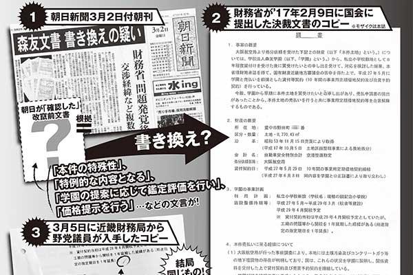 朝日新聞関係者が語った「森友文書」書き換え問題
