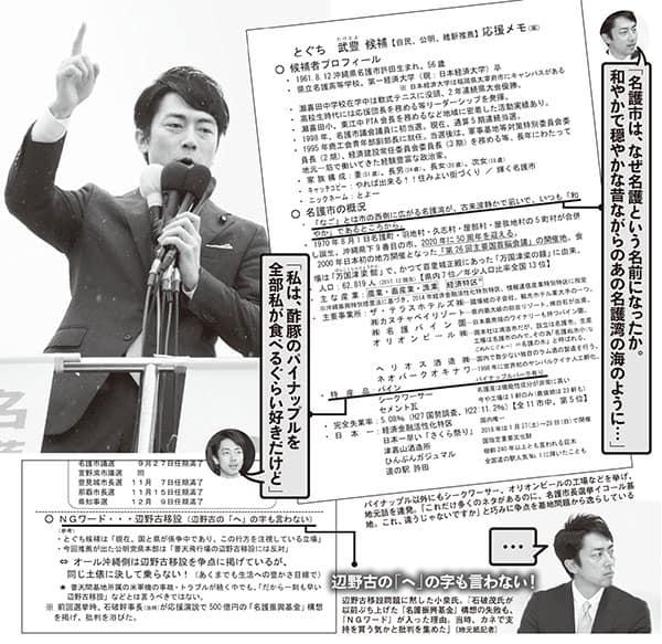 「応援の効果は絶大」小泉進次郎の演説メモを独占入手