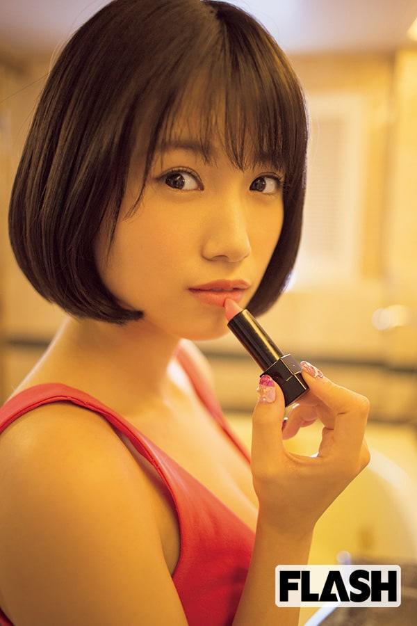HKT48 朝長美桜「禁断の誌面デート」