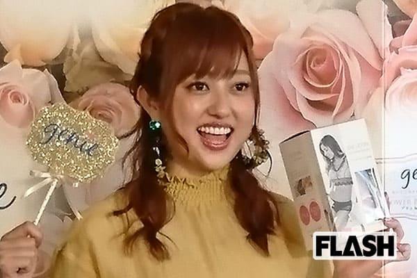 結婚発表で超おのろけ「菊地亜美」幸せすぎて薬指も忘れる