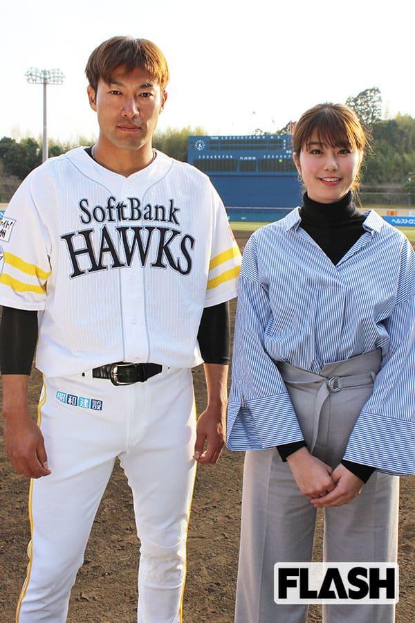 稲村亜美が「日本人でいちばん飛ばす男」柳田悠岐を直撃