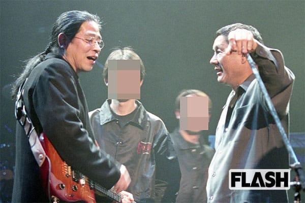 森社長とたけし(2000年)