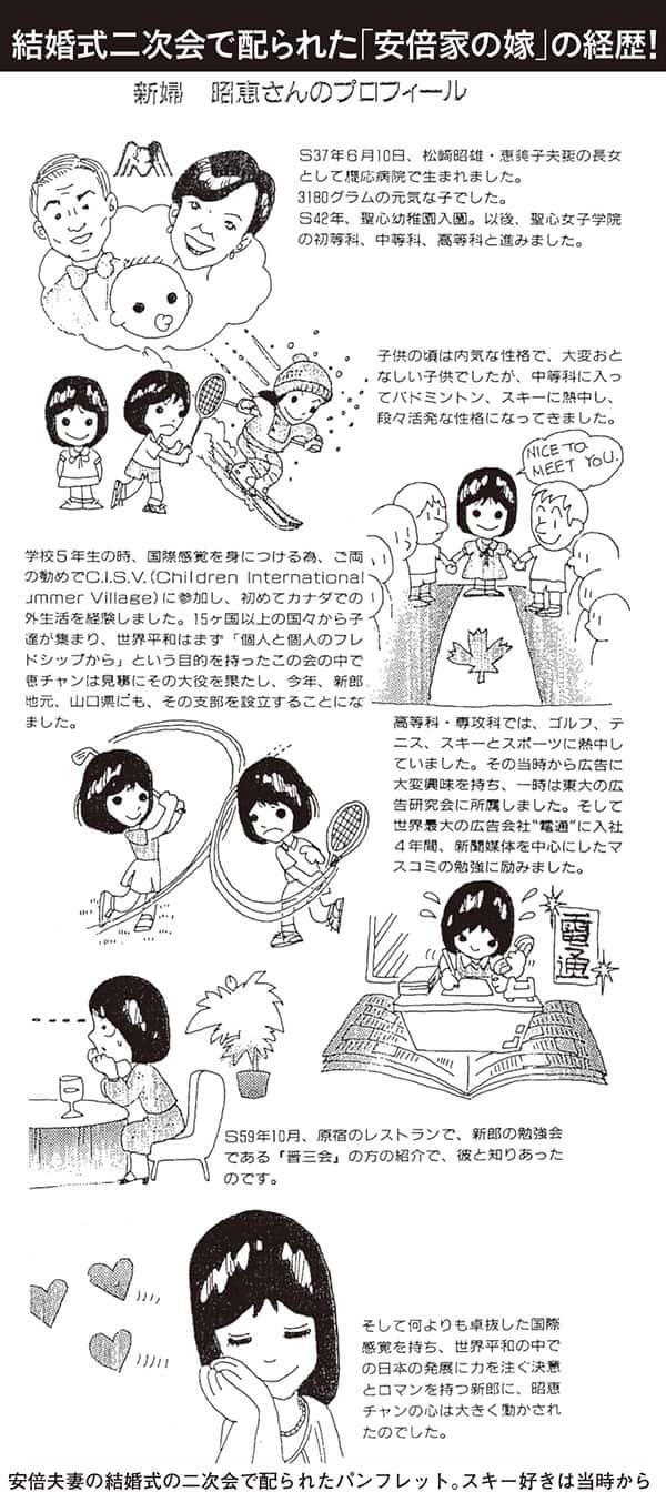 安倍首相と昭恵さんの馴れ初めは…泥酔妻をおんぶして帰宅も