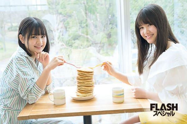 乃木坂46 3期生『中村麗乃と伊藤理々杏の日常』