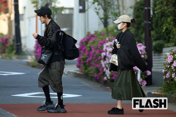 共通の話題はネコ「前田敦子」が勝地涼と早朝デート