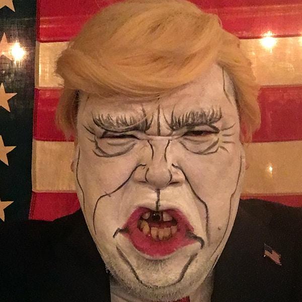 野性爆弾クッキー「白塗りものまね」トランプ大統領&安倍夫妻