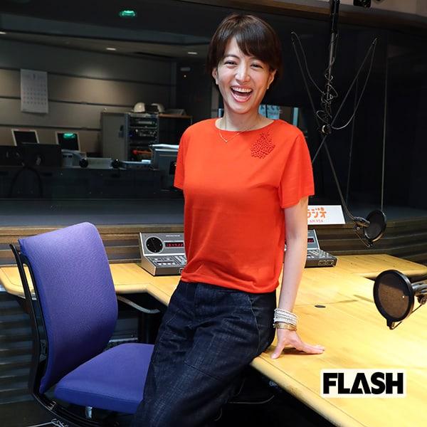 産休の「赤江珠緒」ラジオ復帰を...
