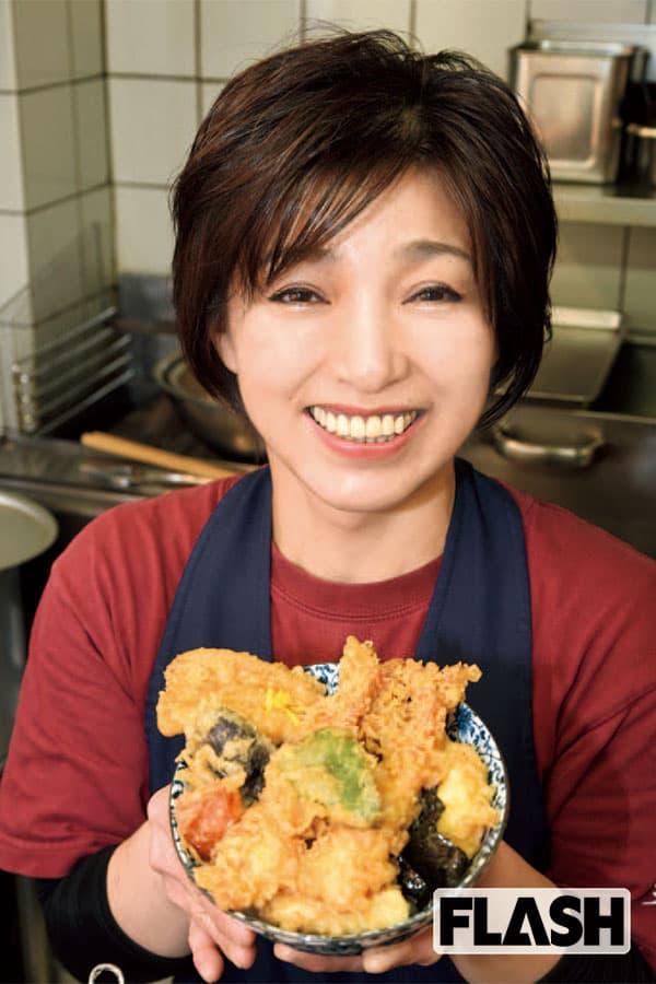 アイドルレスラーだった「小倉由美」いまは天ぷら屋の女将