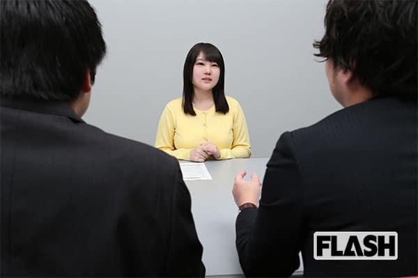 就活より大変「AV女優」月150人面接して採用は70〜80人