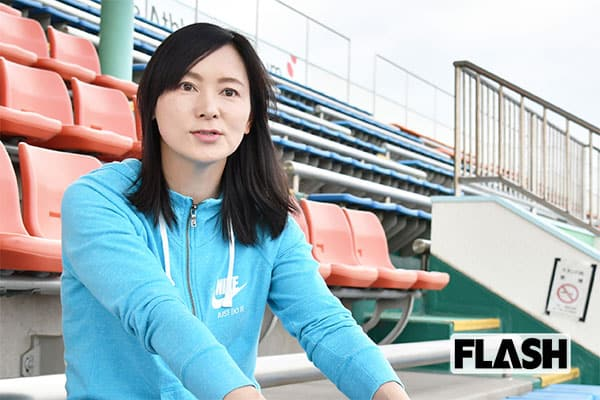 走り幅跳び「井村久美子」臨月に幅跳びしたらその夜に陣痛が
