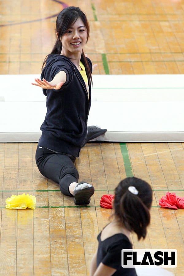 新体操「坪井保菜美」ホームシックで全身に蕁麻疹の過去