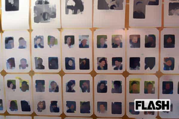 中核派のアジトに潜入…壁一面に公安警察官の顔写真が!