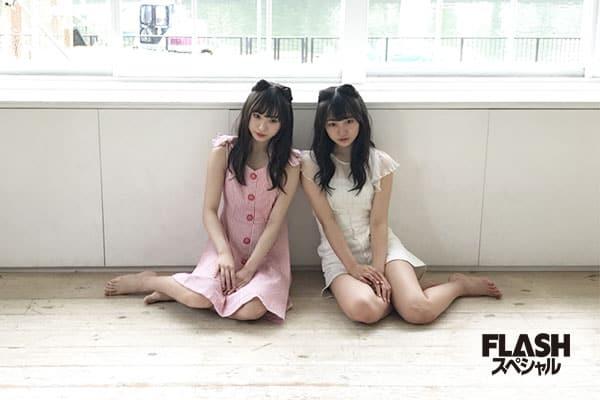 NMB48 山本彩加・梅山恋和【オフショット】FLASHスペシャル201…
