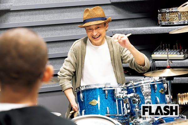 元ジュディマリの五十嵐公太 いまは音楽大学でドラム講師に