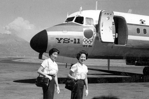 1964年「東京五輪」聖火を空輸した男/飛び立つ「聖火」号