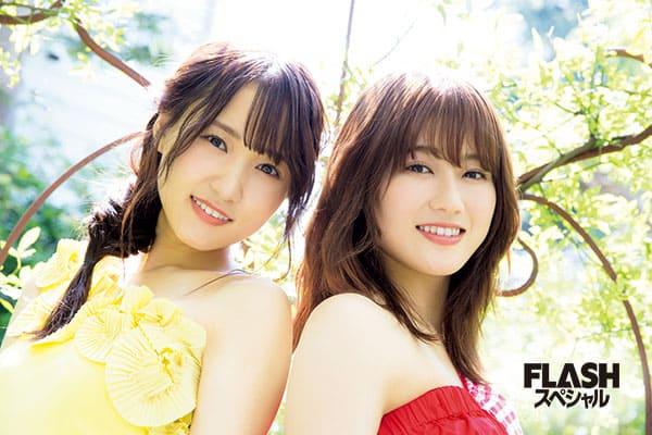 欅坂46 菅井友香×守屋茜『夏、駆け抜ける~Two Top in summer~』