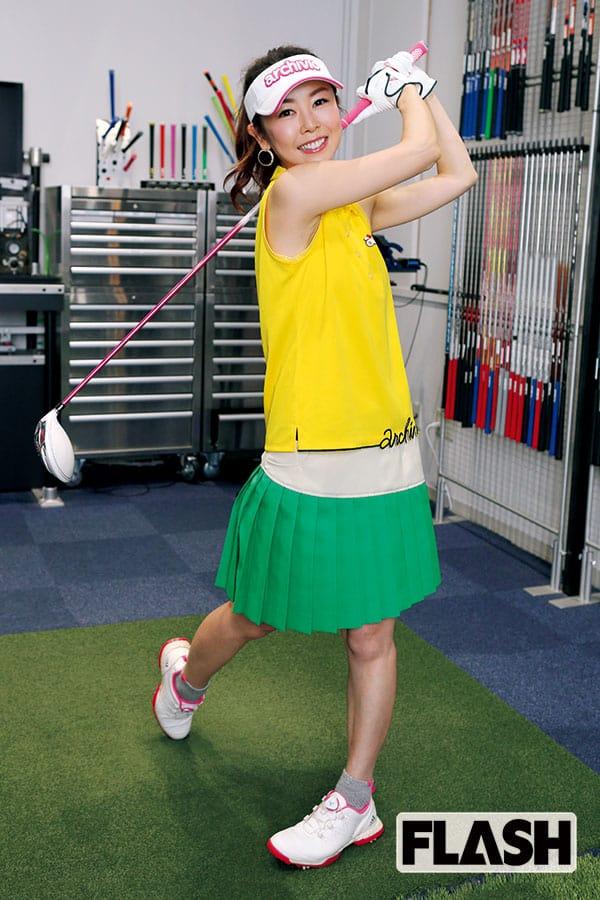 元日本テレビ「宮崎宣子アナ」ゴルフにハマるも腕はまだまだ
