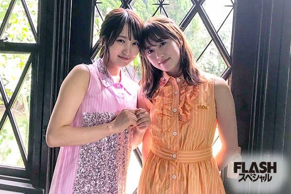 欅坂46 菅井友香×守屋茜【オフショット】FLASHスペシャル盛夏号