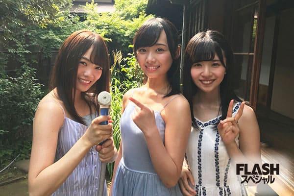 宮田愛萌×濱岸ひより×松田好花