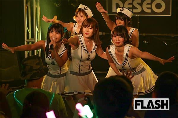 グラドルユニット「G☆Girls」解散!涙枯らすまで頑張る!
