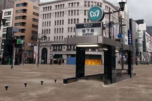 東京・横浜は「世界一の水没危険地帯」97駅が浸水の可能性…