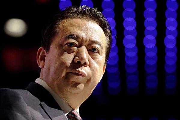 インターポール総裁が行方不明!中国政府が身柄拘束を認める