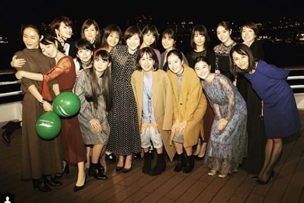 広末涼子、戸田恵梨香、有村架純ら美人女優が「船上パーティー」