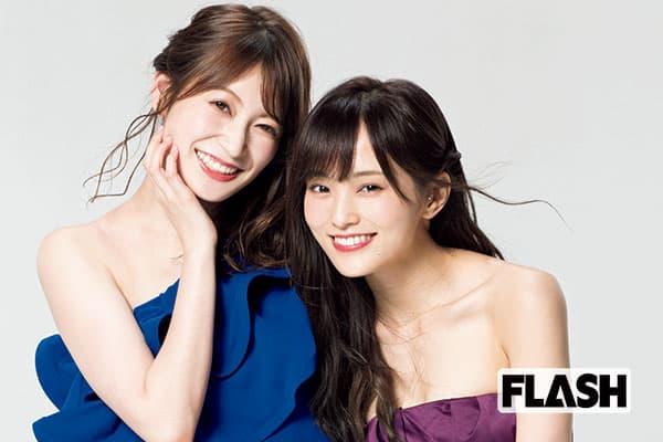 NMB48同期対談「山本彩&吉田朱里」いつも一緒に爆笑してた