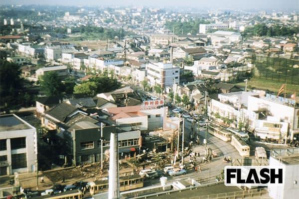 秘蔵カラー写真で見る「60年前の日本」新宿伊勢丹屋上