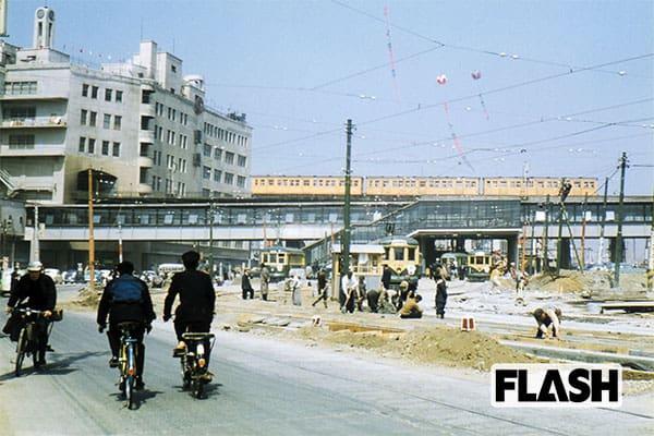 秘蔵カラー写真で見る「60年前の日本」渋谷駅