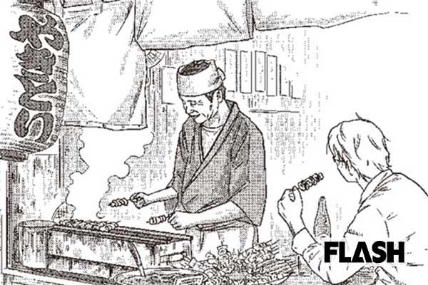 ケータイ生産に疲弊した男、人生を変えたのは「こげた焼き鳥」