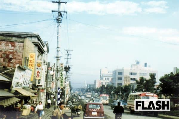 秘蔵カラー写真で見る「60年前の日本」釧路