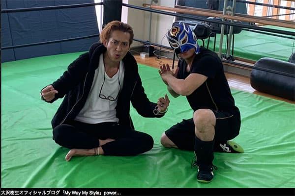 大沢樹生、プロレスデビューで猛特訓「僧帽筋が異常に育った」