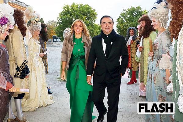 王様ゴーンの絶頂期「ヴェルサイユ宮殿」結婚式写真