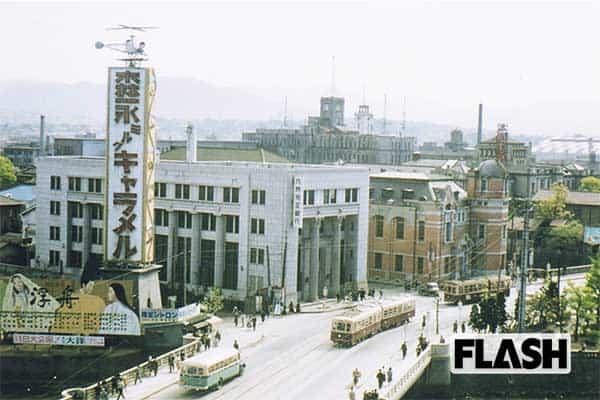 秘蔵カラー写真で見る「60年前の日本」中洲(福岡県)