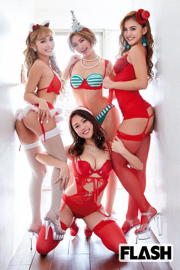 サイバージャパンダンサーズ「サイバージャパン【サンタ】ーズ!」