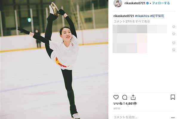 女子フィギュア「紀平梨花」卒業式も出られず練習の日々