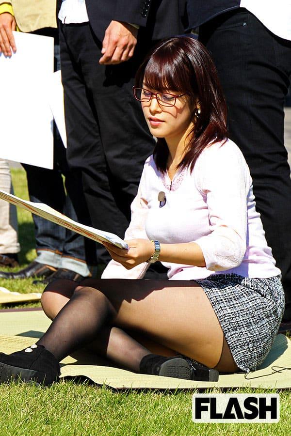 テレ東・鷲見玲奈VS.テレ朝・三谷紬の真剣勝負/サッカー好き