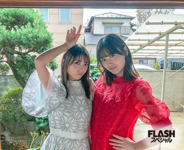 乃木坂46 与田祐希×山下美月【オフショット】FLASHスペシャル