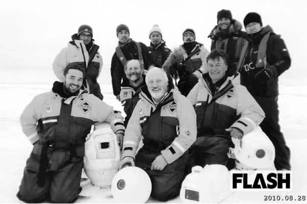 北極熊の餌になりかけた「照英」映像が危険すぎてお蔵入り