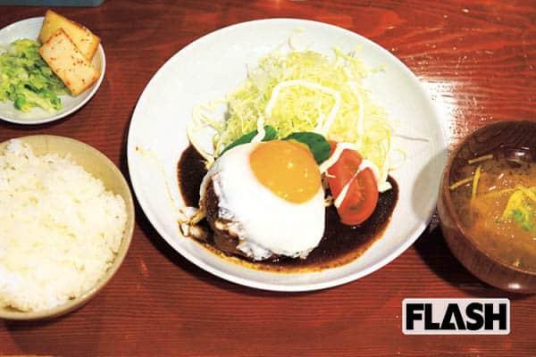 【食わずに死ねるかこのハンバーグ】東陽町・小古食堂