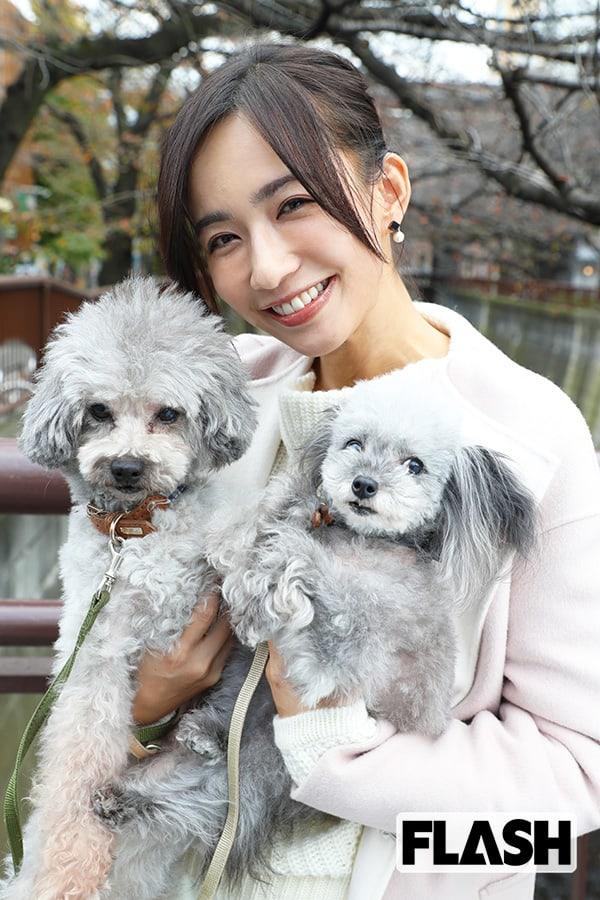 優木まおみ愛犬を語る「これからは犬孝行をしたい!」